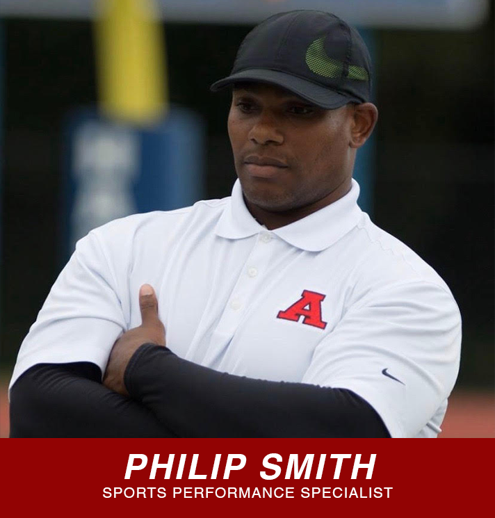 Philip Smith sports performance specialist button